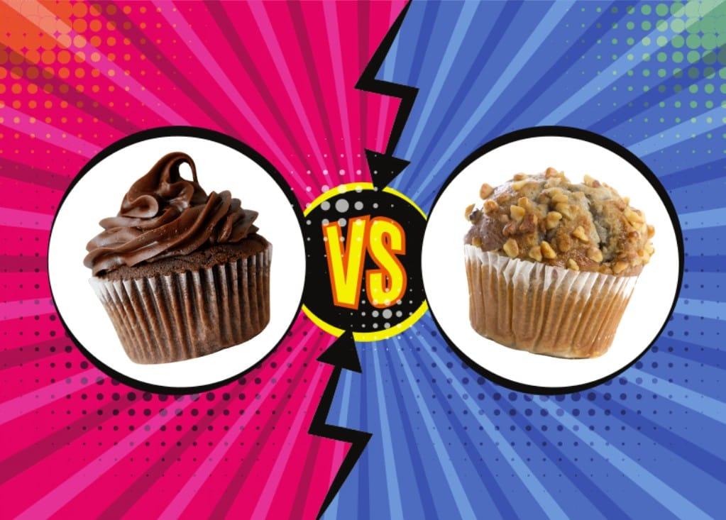 comparatif entre cupcake et muffin